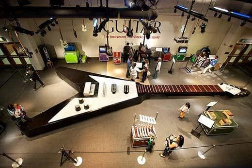 The Largest Playable Guitar in the World